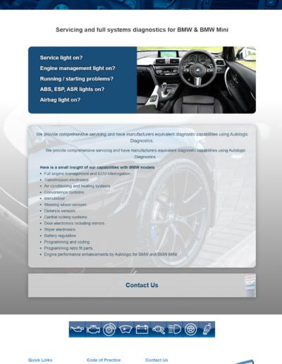 Motor Trade Website Specialist
